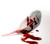 написано кровью