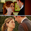 openyoureyes: The Office -- Jim and Pam kiss