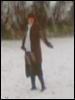 retro, vintage, snow