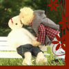 corlee1289: Playful Kiss Bears Bench Kiss