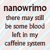 NaNo Caffeine