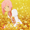 Vesperia ~ Estelle sit in field