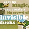 chamekke: FT_invisible_ducks