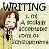 [Hetalia/Text Icons] -Liet- Schizophreni