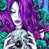 DCMA; Turquoise Roses