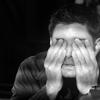Andrea: Dean: facepalm b/w