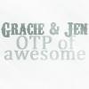 Text :: Gracie + Jen = OTP