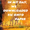 China-Shop/Fic Onto Paper