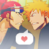 Your weight on my back keeps me from trouble.: Renji/Ichgo- Trying to hard