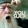 Dumbledore You Suck