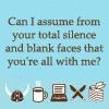 NaNo Silence BlankFace WithMe