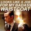 Christel: Arthur: Badass waistcoat.