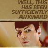 awkward Spock
