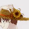 queen lia.: 路飞; 草帽