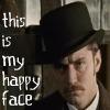 watson- happy face