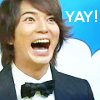 ♪KAT-TUN♥FOREVER♪: [Arashi] MatsuJun is *too* happy