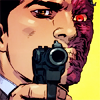 TWO-FACE ( Harvey Dent ): luck has run dry