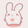 cute 」 to love some bunny