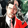 TWO-FACE ( Harvey Dent ): someone in my head but it's not me