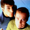 idvo: Kirk and Spock