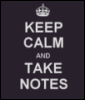 Take notes