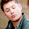 Late Night Drops of Random: Dean eyes closed lips puckered