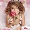 девочка, корона, принцесса