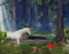morethansirius: Unicorn in the forest