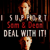 deezy_y: Sam and Dean I Support Sam and Dean