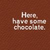 Siria: chocolate