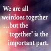 Friends-Weirdo