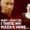 tv // star trek // pizza