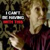 Sherlock -Mrs Hudson can't be having thi