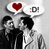 Improbable Girl: Dean/Cas: <3 :D
