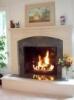 fireplace (brick)