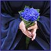 blue flowers, orient
