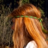 волосы, профиль, рыжее, хиппи