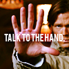 supernatural: talk to the hand