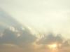 cloud, sun