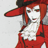 Madam Red ♛ Angelina Durless Barnett: ♢ make you cut cards.