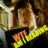 sherlock reading WTF