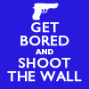 sherlock - shoot the wall