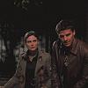 Bones Booth & Brennan in the dark