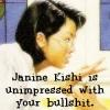 janine bullshit
