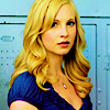 ginger vic: tvd: caroline blue