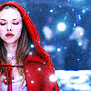 Valerie- Red Riding Hood- Red Winter Glo