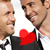 danno/steve looking at eachother