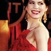 jenpero: side eye red dress