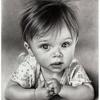 Черно-белый ребеночек