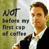 NCIS Tony coffee